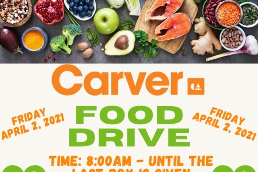 Carver High School's Community Food Drive